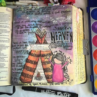 Journaling Bible | I'm Gonna Lift My Hands