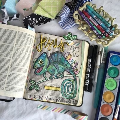 Journaling Bible | Jesus Ain't No Chameleon