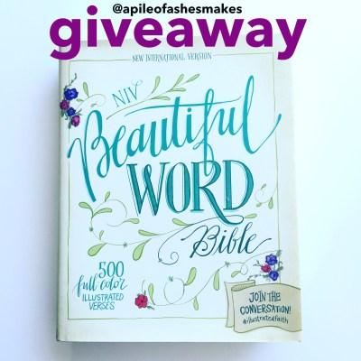 Beautiful Word Bible Review + Giveaway