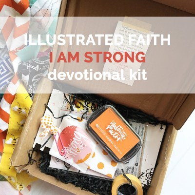 Illustrated Faith | I Am Strong Kit