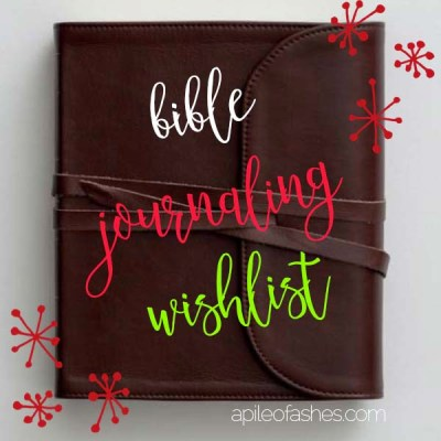 Black Friday Isn't Over Yet + Bible Journaling Gift List