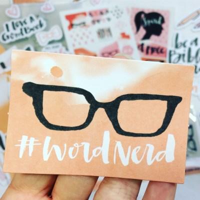Word Nerd | Illustrated Faith Bible Journaling Kit