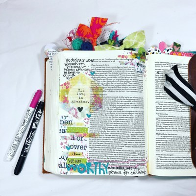 Your Love is Greater   Illustrated Faith Print&Pray Devos