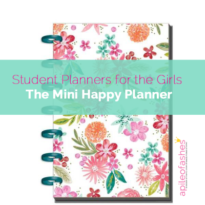 School Planner for the Kids | Mini Happy Planner