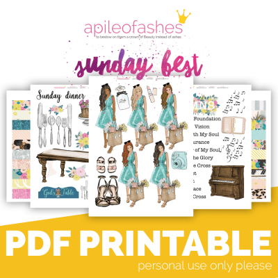 Sunday Best Bible Journaling Kit
