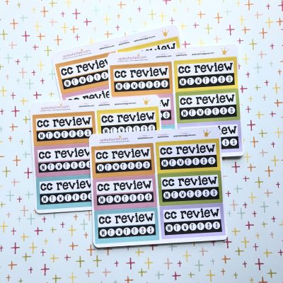 cc review stickers