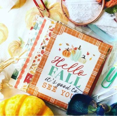 apileofashes Be Grateful Mini Tag Book