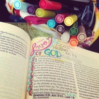 Journaling Bible | A Lover of God
