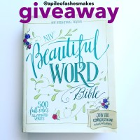 Beautiful Word Bible Review + Giveaway