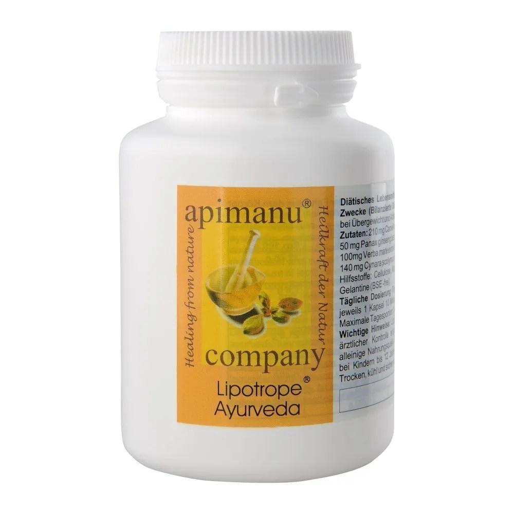 gesund abnehmen mit apimanu lipotrope ®