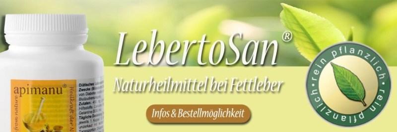 LebertoSan bei Fettleber
