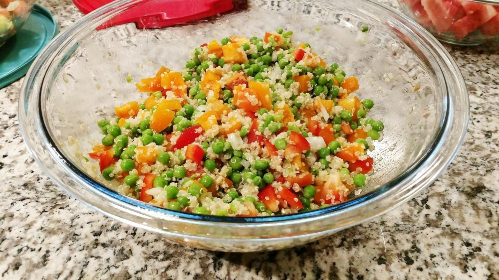 What's cookin' Wednesday: Quinoa Salad