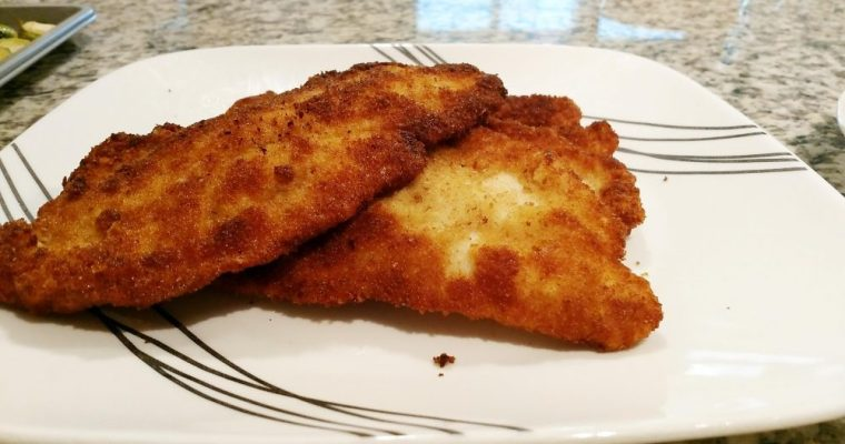 What's cookin' Wednesday : Schnitzel