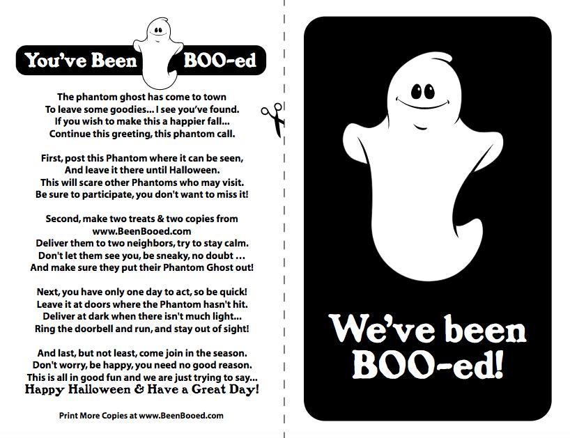 BOOed