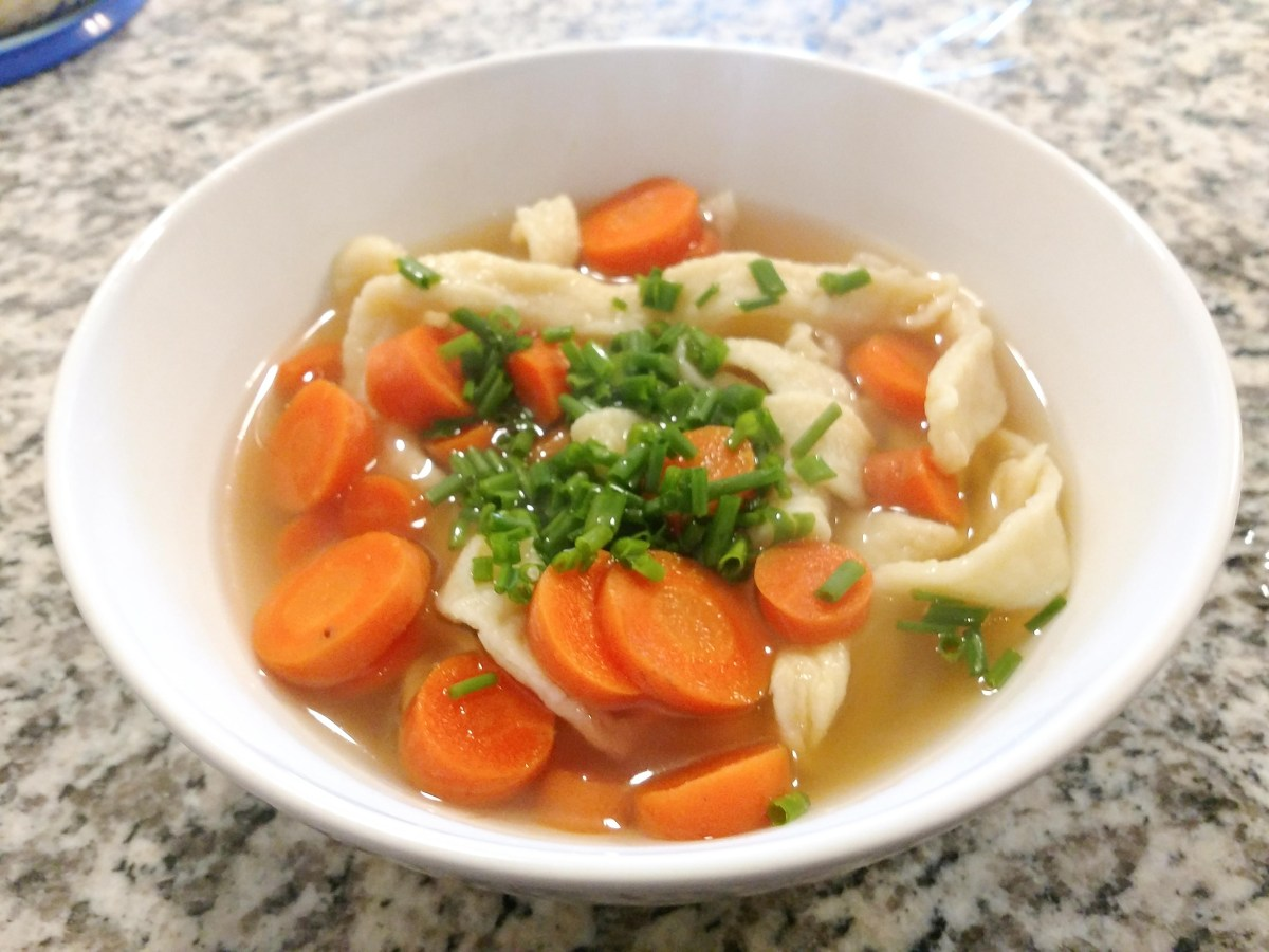 homemade noodle soup