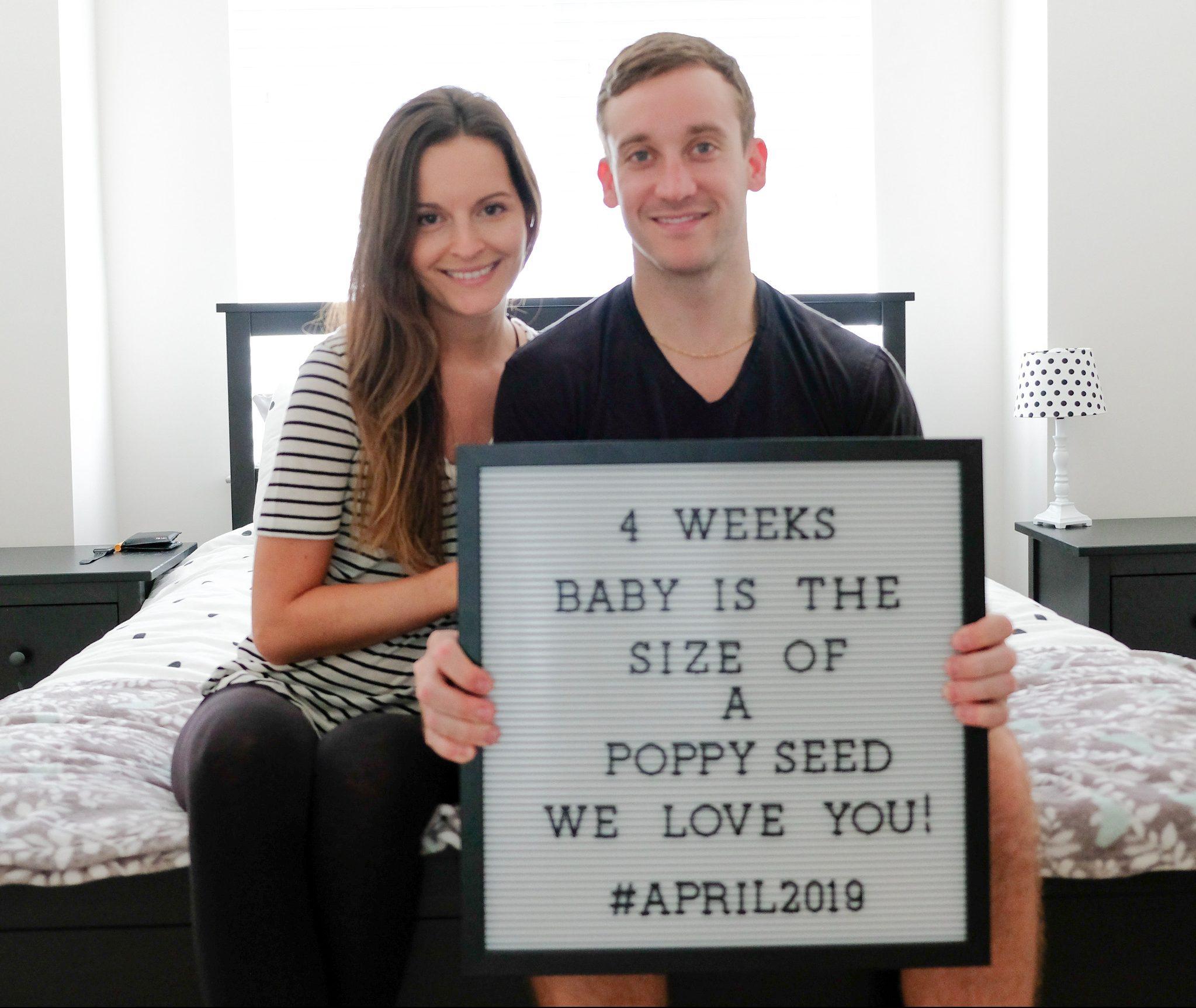 We're PREGNANT! weeks 1-4
