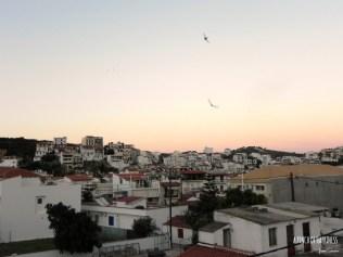 sunset from my balcony, Skiathos