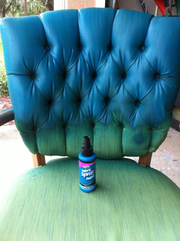Fabric Spray Paint Ideas
