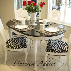 Hobby Lobby Table And Chairs Modern Grey Dining Uk Adding A Little Zebra Never Hurt Anything Pinterest Addict