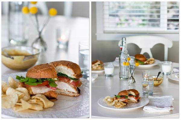 Gluten Free Chicken Sandwich