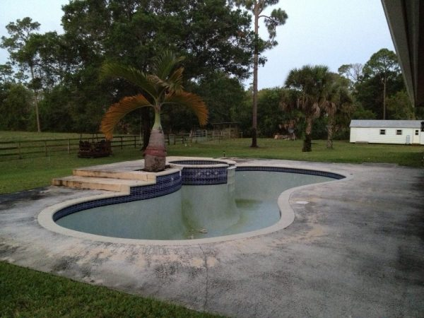 The old pool