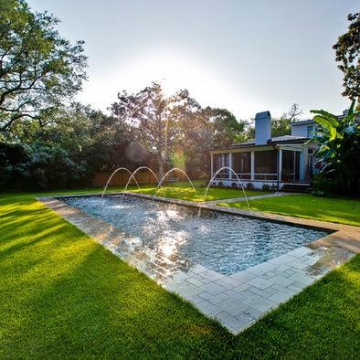 Rectangle pool Arizona Design ideas