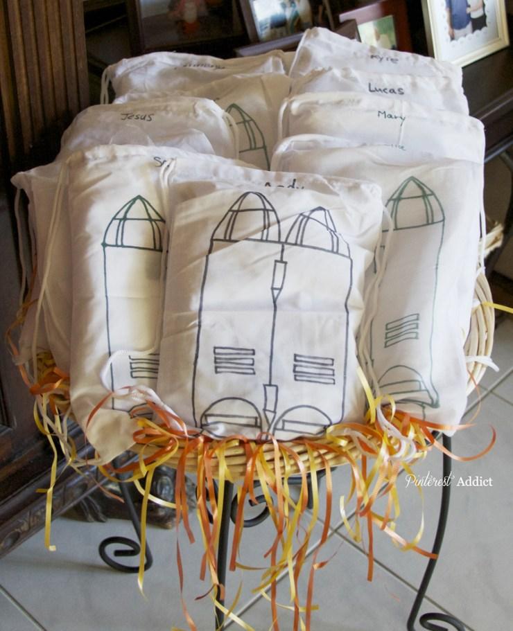 rocket booster back packs
