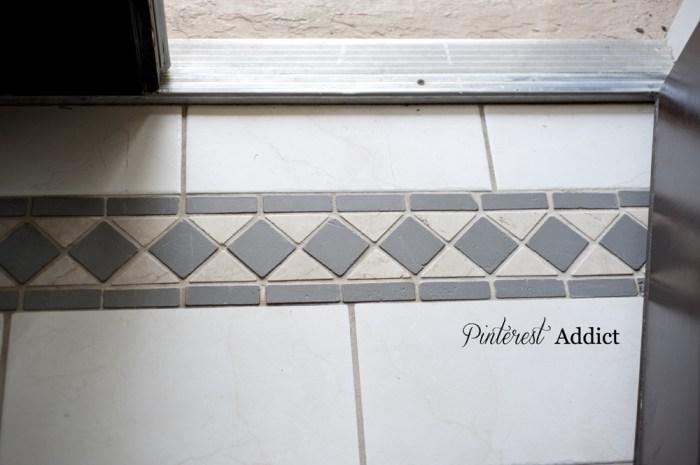 Floor paint update - front door