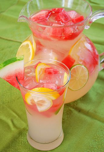 Watermelon Lemonade from What's Cookin, Chicago