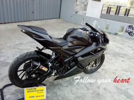 Modifikasi CB150R fairing 1