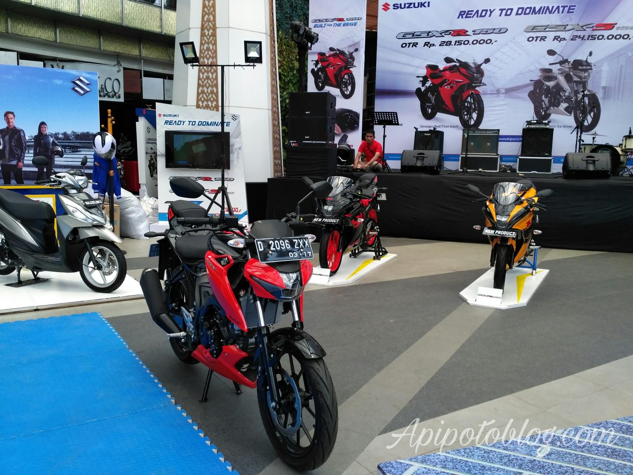 Launching GSX-R150 suzuki Bandung