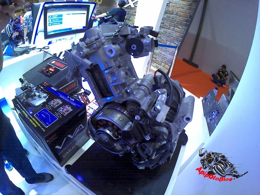 mesin Vixion R 155 VVA
