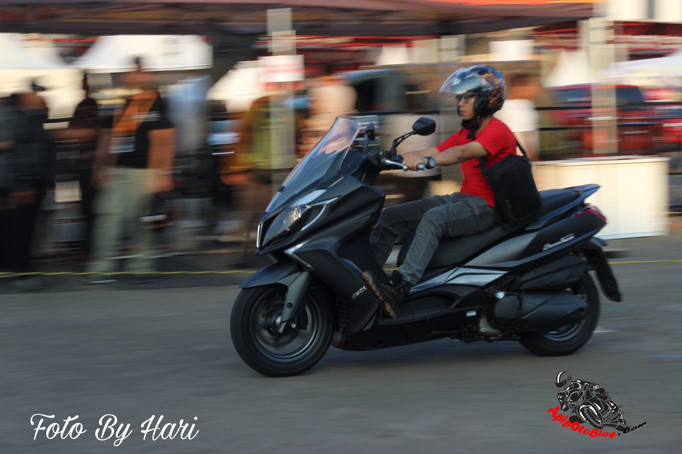 Test Ride Kymco Downtown 250i apipotoblog.com