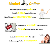 7 Bimbel online