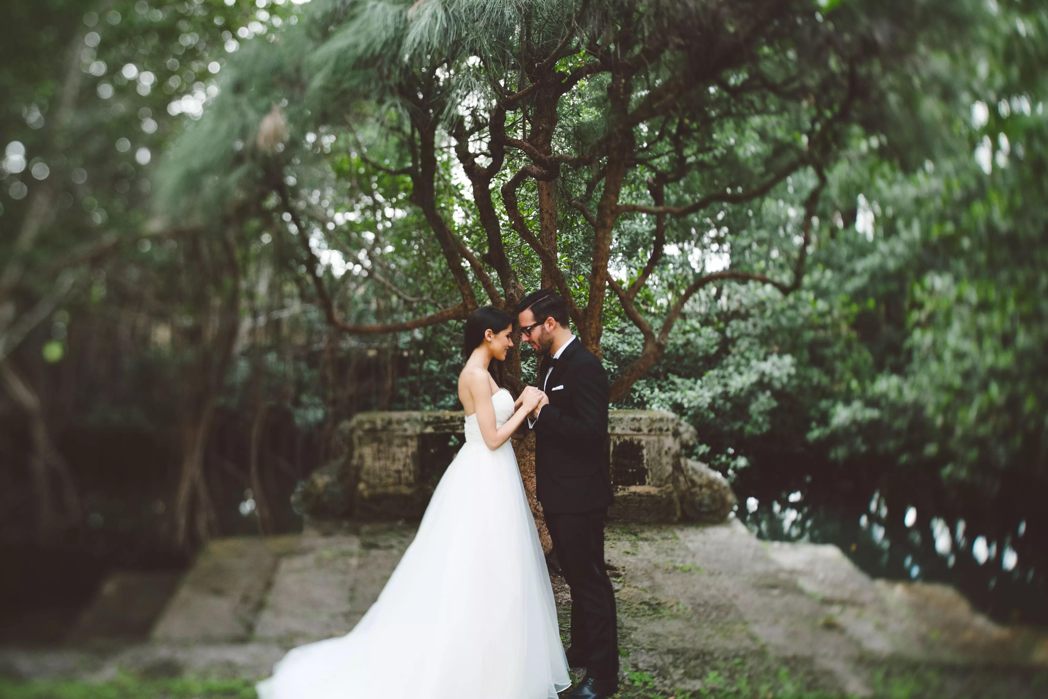 An Elegant Garden Wedding at the Womens Club of Coconut