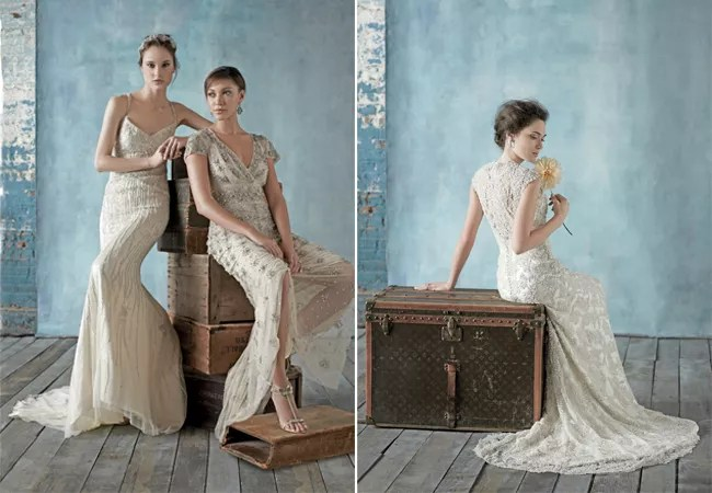 7 Shimmery Wedding Dresses From Our Latest Issue