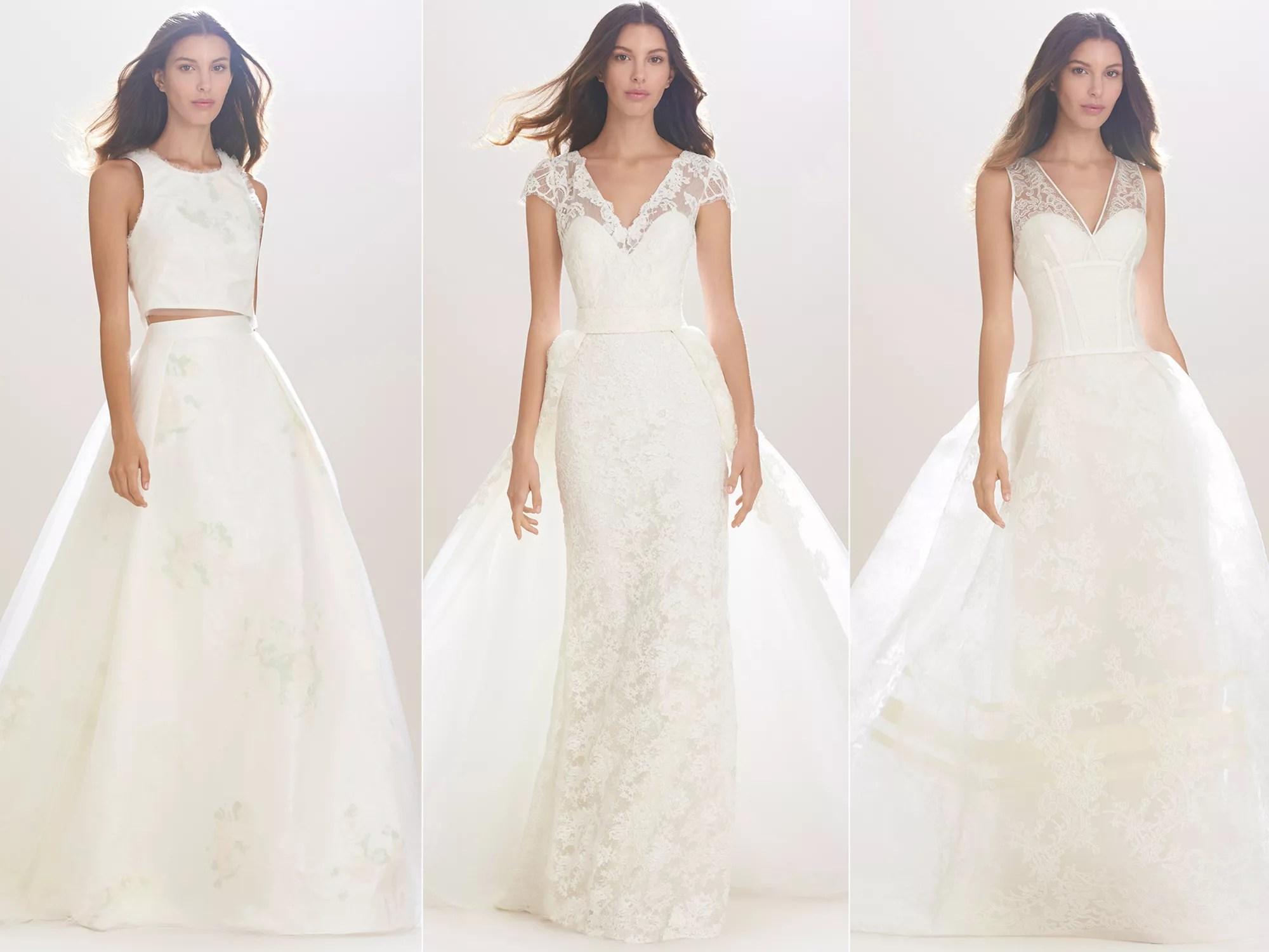 Carolina Herrera Fall 2016 Collection: Wedding Dress Photos