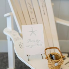 Adirondack Chair Photo Frame Favors Wicker Chaise Lounge Chairs Outdoor Guestbook