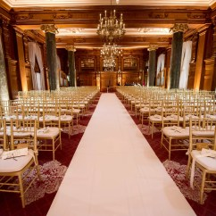 Chair Rental Milwaukee Diy Reupholster Rocking Cushion Ornate Ballroom Ceremony With Gold Chiavari Chairs And