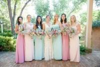 Long Pastel Bridesmaid Dresses