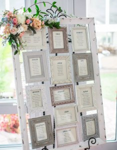 also vintage picture frame seating chart rh theknot