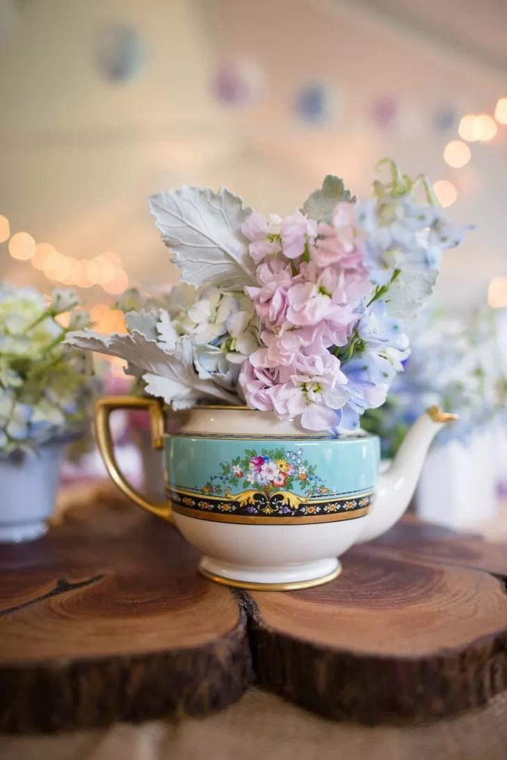 Teapot Centerpieces