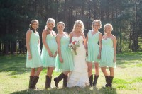 Cowgirl Bridesmaid Dresses - Flower Girl Dresses