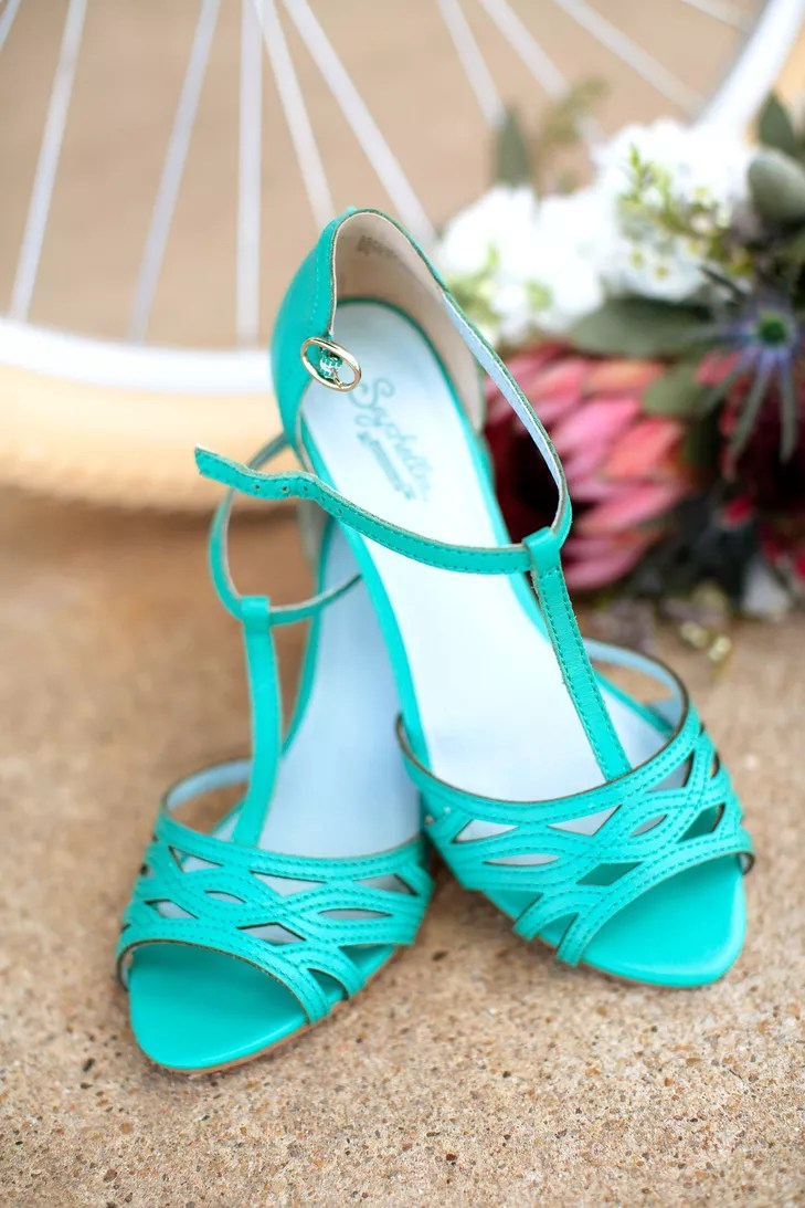 Turquoise Wedding Shoes  Select Your Shoes