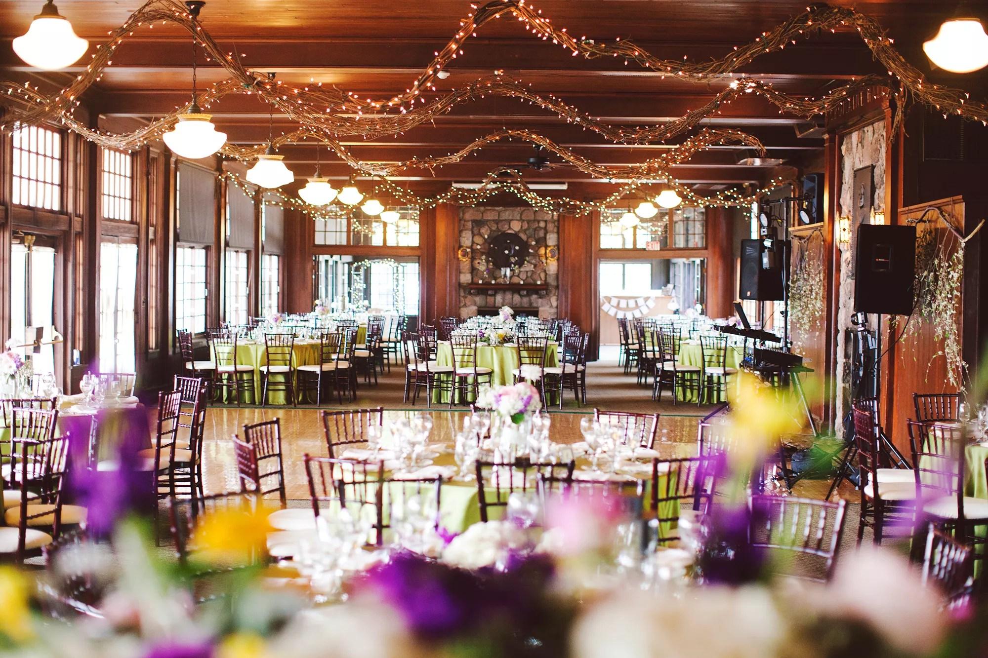 Waldenwoods Center Wedding Reception