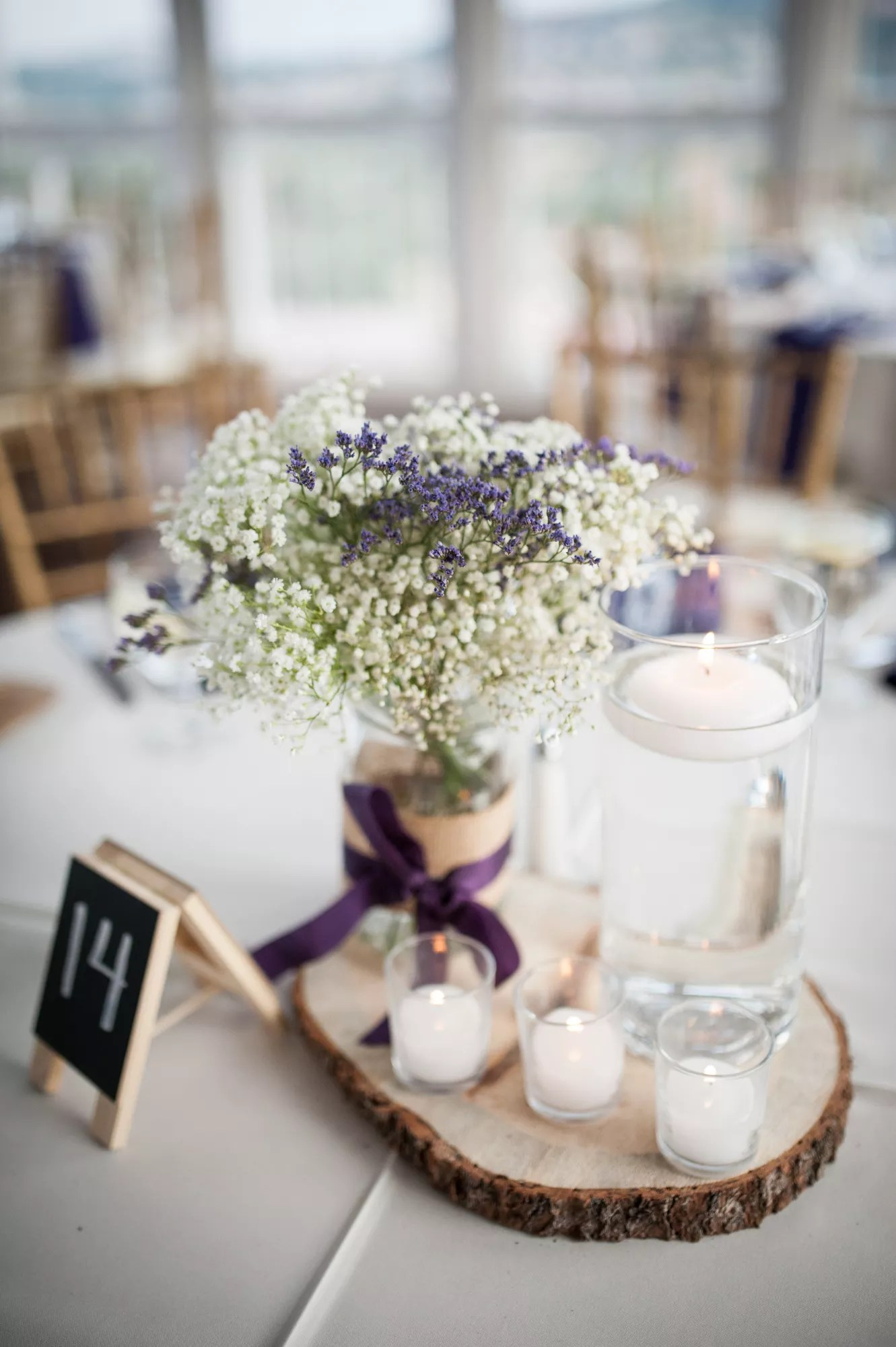 Purple And Gold Bridal Shower Decorations