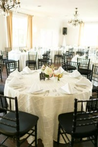Black Tablecloth Wedding Reception Images - wedding theme ...