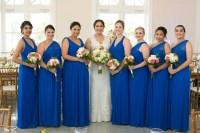 Cobalt Blue Long Bridesmaid Dresses