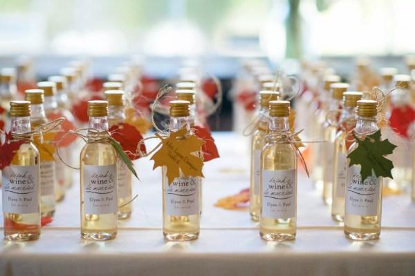 Miniature Bottles Of Wine Wedding Favors