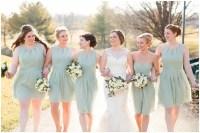 Sage Green Sorella Vita Bridesmaid Dresses